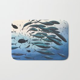 School of Fish Bath Mat