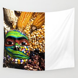 Seed Mask Wall Tapestry