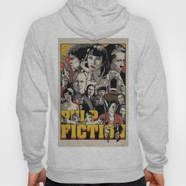 Pulp Fiction Movie Poster - Quentin Tarantino Hoody