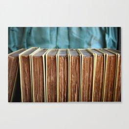 Antique Deckled Pages Canvas Print