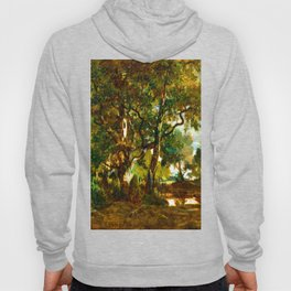 Theodore Rousseau Forest of Fontainebleau Hoody