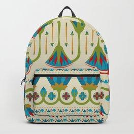 Egyptian Floral Border Pattern 2 Backpack