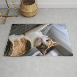 Cat by Curtis Thornton Rug