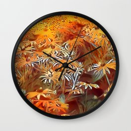 Atomic  Field Wall Clock