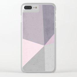 Desert Rose Palette Clear iPhone Case