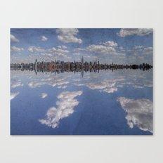Linear Sky Canvas Print