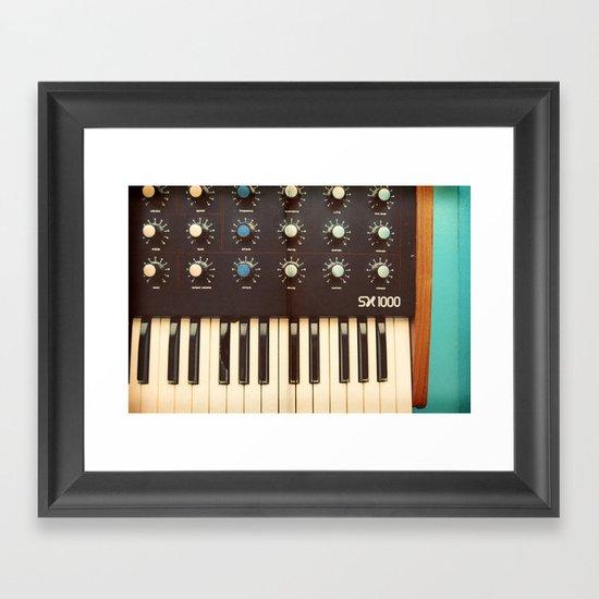 Analog Framed Art Print