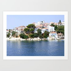 Skiathos Island, Greece Art Print