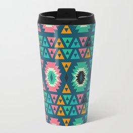 Happy ethnic shapes Travel Mug