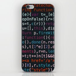 Computer Science Code iPhone Skin