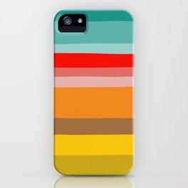 Color Stripes iPhone Case