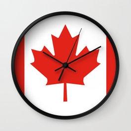 Canada flag Wall Clock