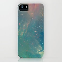 Space fall iPhone Case