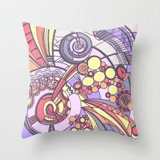 my doodles 3B Throw Pillow