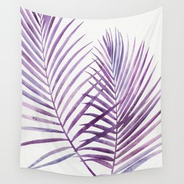 Purple Palms Wall Tapestry