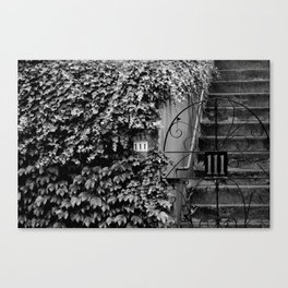 111 Canvas Print