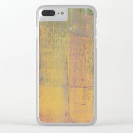 Simon Carter Painting Dispelling The Myth Clear iPhone Case