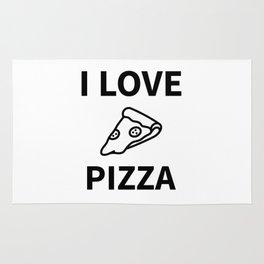 I Love My Pizza Rug