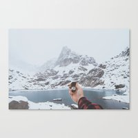 compass Canvas Prints featuring Compass by Luke Gram