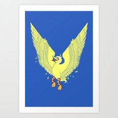 Spread Your Wings! Art Print