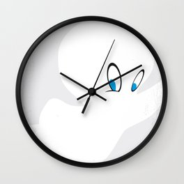 No752 My CASPER minimal movie poster Wall Clock