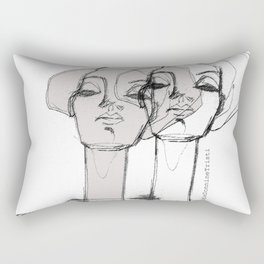Mirror Essence Rectangular Pillow