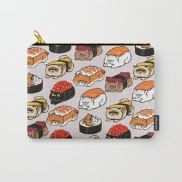 Sushi Persian Cat Carry-All Pouch