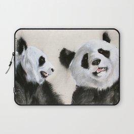 Laughing Pandas  Laptop Sleeve