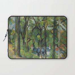 """Paul Cezanne """"The Orchard. La côte Saint-Denis à Pontoise"""" Laptop Sleeve"""