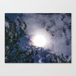 Iridescent Clouds Canvas Print