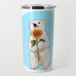 Romantic Bear Cub Travel Mug