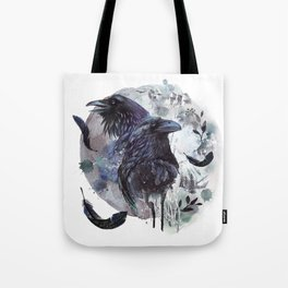 Full Moon Fever Dreams Of Velvet Ravens Tote Bag