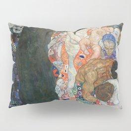 Gustav Klimt - Death and Life Pillow Sham