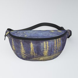 Vincent Van Gogh Starry Night Over The Rhone Fanny Pack