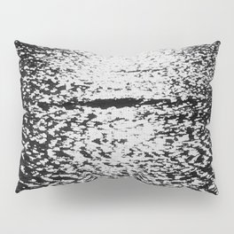 Sea black and white vintage photo Pillow Sham