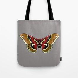 Cecropia Moth Tote Bag