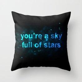 Sky Full of Stars Throw Pillow