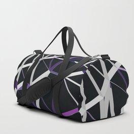3D Futuristic GEO Lines XIII Duffle Bag