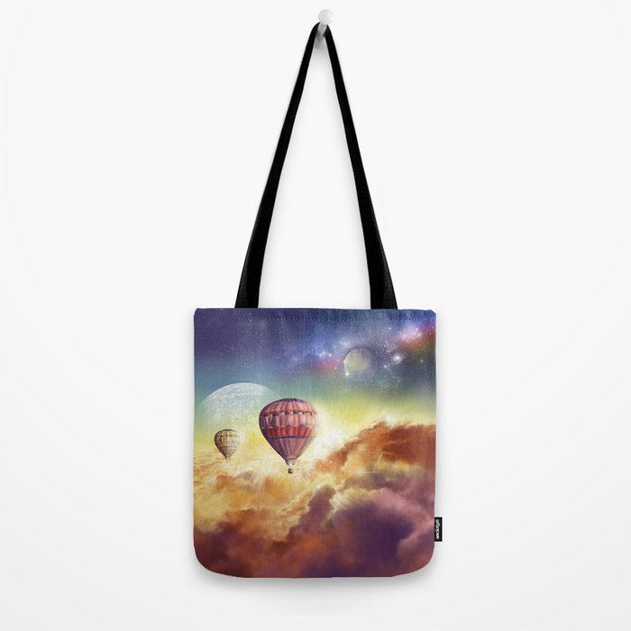 clouds,sky and ballons Tote Bag