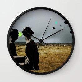 The Looking Field Wall Clock