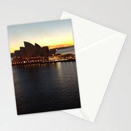 Sydney Opera House at Sunrise Stationery Cards