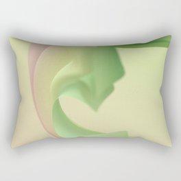 Billowy B Rectangular Pillow