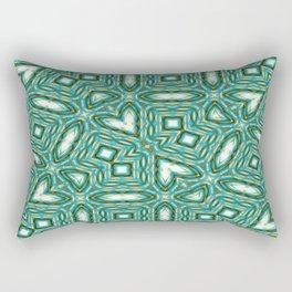 Turquoise Gems Rectangular Pillow