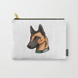 Belgian Malinois Dog Puppy Doggie Present Cartoon Carry-All Pouch