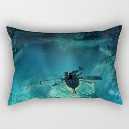 The Universe Below Rectangular Pillow