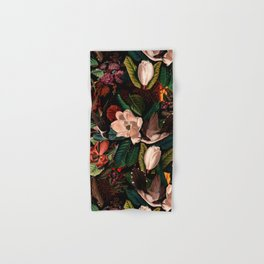 FLORAL AND BIRDS XIV Hand & Bath Towel