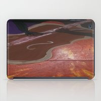 cello iPad Cases featuring Cello Played in (d)ea Minor  by Dea Paige