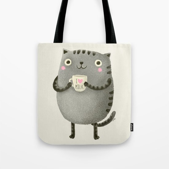 I♥milk Tote Bag