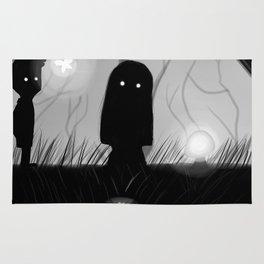 Lila - Limbo Video Game Illustration Rug