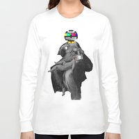 madonna Long Sleeve T-shirts featuring Madonna del la TV by Marko Köppe